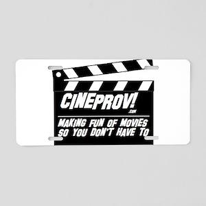cineprov Aluminum License Plate