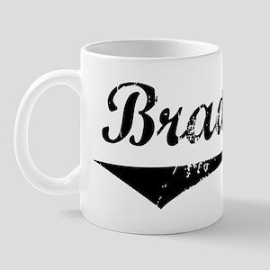 Brady Vintage (Black) Mug