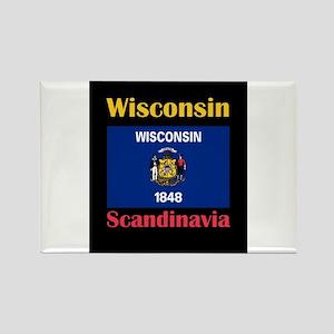 Scandinavia Wisconsin Magnets
