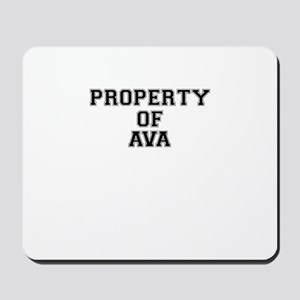 Property of AVA Mousepad