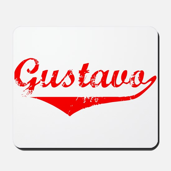 Gustavo Vintage (Red) Mousepad