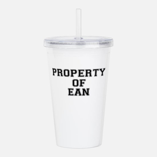 Property of EAN Acrylic Double-wall Tumbler