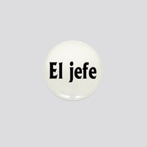 El jefe (The Boss) Mini Button