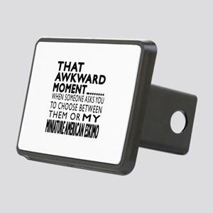 Awkward Miniature American Rectangular Hitch Cover