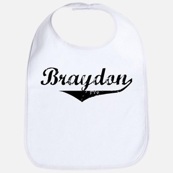 Braydon Vintage (Black) Bib