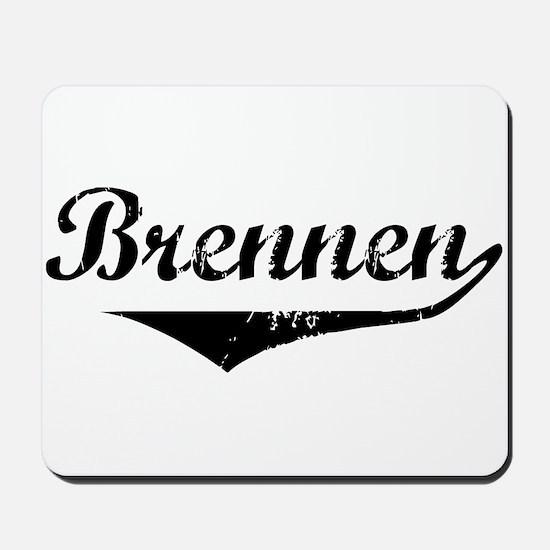 Brennen Vintage (Black) Mousepad