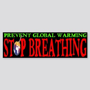 Prevent Global Warming: Stop Breathing
