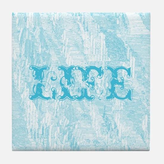 Inspirational LIFE Tile Coaster