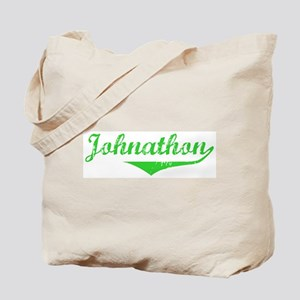Johnathon Vintage (Green) Tote Bag