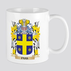 Faas Coat of Arms - Family Crest Mugs