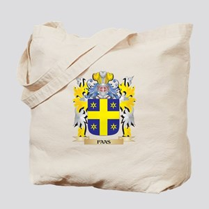 Faas Coat of Arms - Family Crest Tote Bag