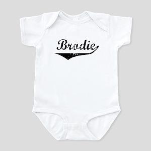 Brodie Vintage (Black) Infant Bodysuit