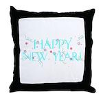 New Year Confetti Throw Pillow