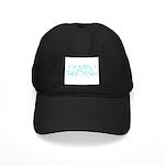 New Year Confetti Black Cap