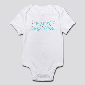 New Year Confetti Infant Bodysuit