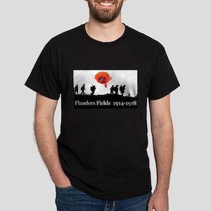 Flanders Fields 1914-1918 Dark T-Shirt