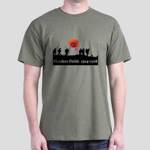 Flanders Fields 1914-1918 Dark T-Shirt