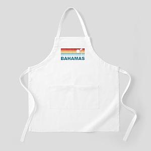Retro Bahamas Palm Tree BBQ Apron