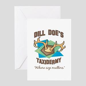 Dill Doe's Taxidermy Greeting Card