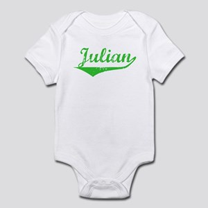 Julian Vintage (Green) Infant Bodysuit