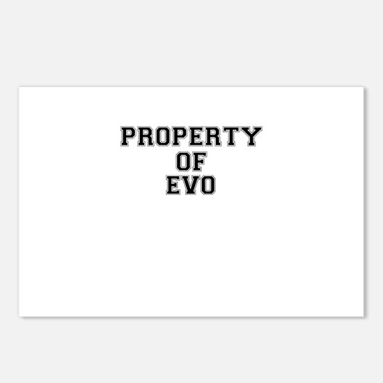 Property of EVO Postcards (Package of 8)