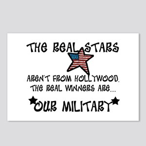Military Stars Postcards (Package of 8)