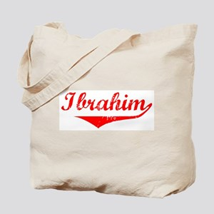 Ibrahim Vintage (Red) Tote Bag