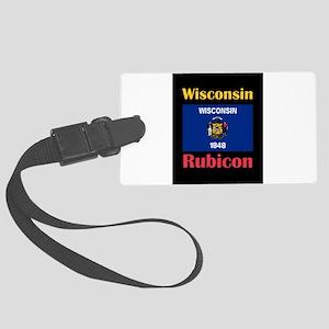Rubicon Wisconsin Luggage Tag