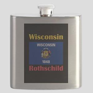 Rothschild Wisconsin Flask