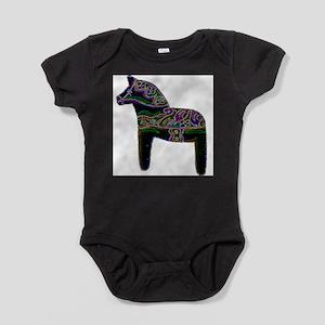 Swedish Dala Horse Infant Bodysuit Body Suit