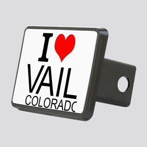 I Love Vail, Colorado Hitch Cover