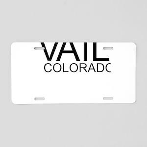 I Love Vail, Colorado Aluminum License Plate