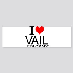 I Love Vail, Colorado Bumper Sticker