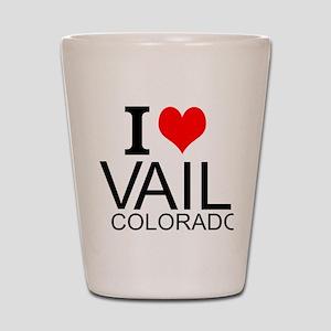 I Love Vail, Colorado Shot Glass