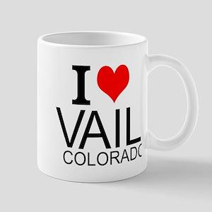I Love Vail, Colorado Mugs