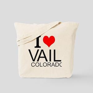 I Love Vail, Colorado Tote Bag