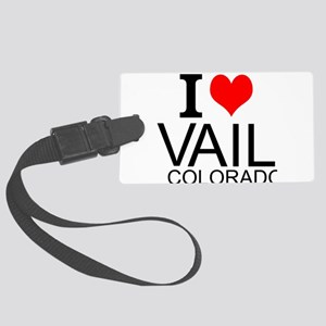 I Love Vail, Colorado Luggage Tag