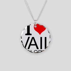 I Love Vail, Colorado Necklace