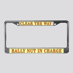 CTW RAlly License Plate Frame