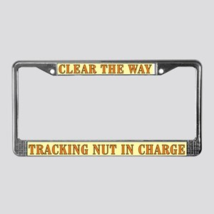 CTW Tracking License Plate Frame
