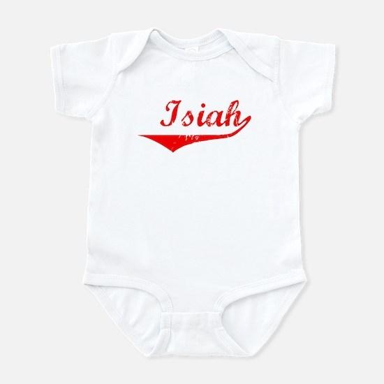 Isiah Vintage (Red) Infant Bodysuit
