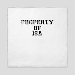 Property of ISA Queen Duvet