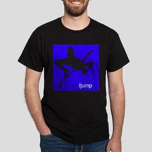 ijump silhouette Dark T-Shirt