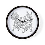 Dragon 5 Wall Clock