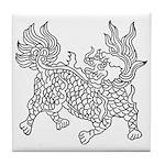 Dragon 5 Tile Coaster