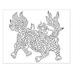 Dragon 5 Small Poster