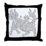 Dragon 5 Throw Pillow