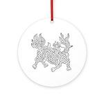 Dragon 5 Ornament (Round)