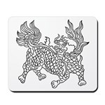 Dragon 5 Mousepad
