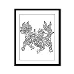 Dragon 5 Framed Panel Print